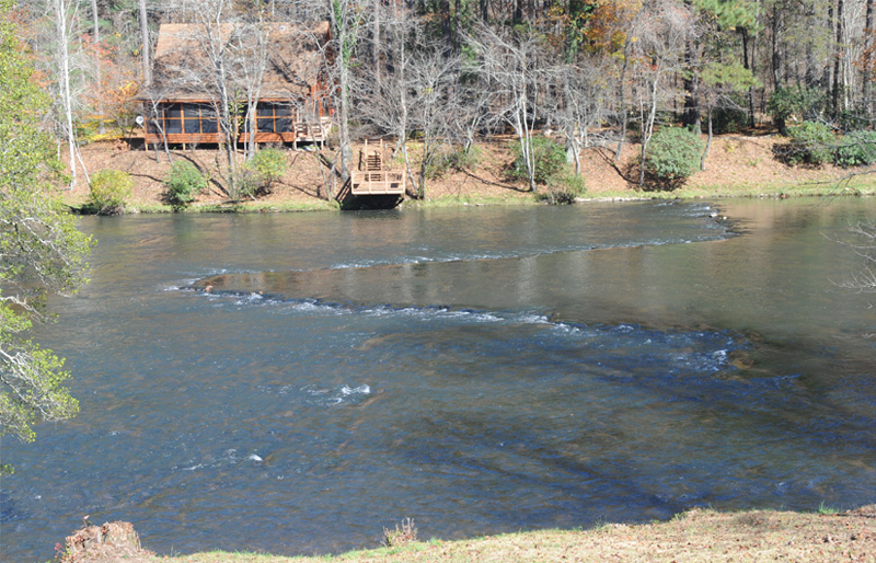 Blue ridge scenic railroad for Toccoa river fishing