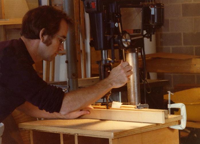 cabinet making at bent tree