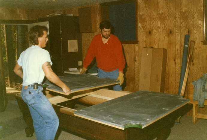 Installation Of Pool Table - Budget pool table