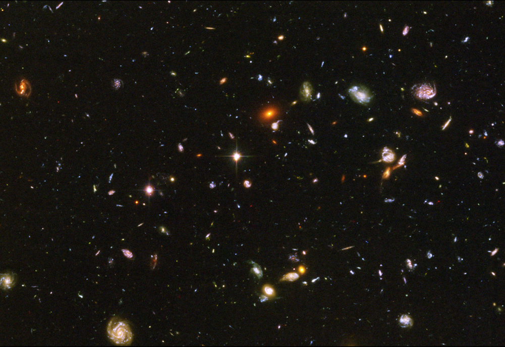 Hubble Extreme Deep Field - Pics about space
