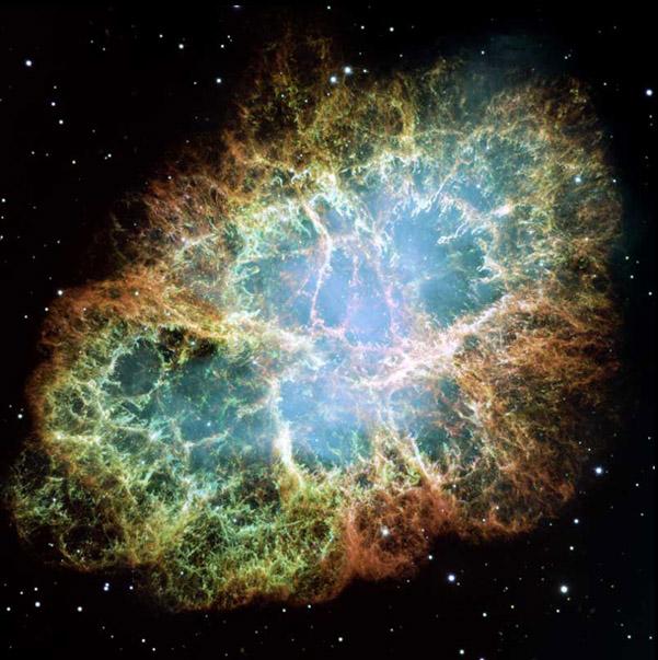 Crab Supernova Remnant (http://hyperphysics.phy-astr.gsu.edu/hbase/astro/snovcn.html)