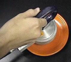 Orange Fiestaware Radioactive